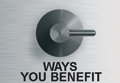 Ways You Benefit